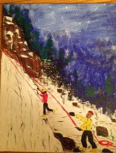 Dan painting