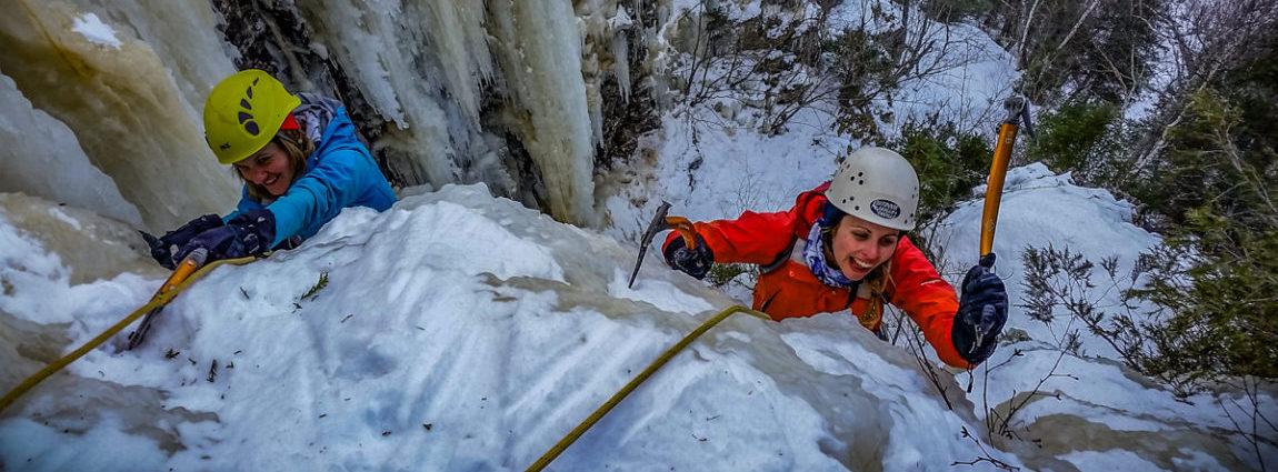 Ice Climbing Adventures & Courses