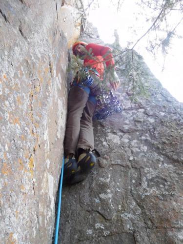 New Route - Birch Tree Crack - Photo by Jon Jugenheimer