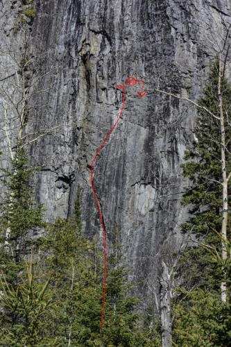 New Route - Broken Toes - Photo by Paul Desaulniers