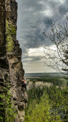 Rock Climbing at Claghorn - Outdoor Skills And Thrills - Photo by: Aric Fishman