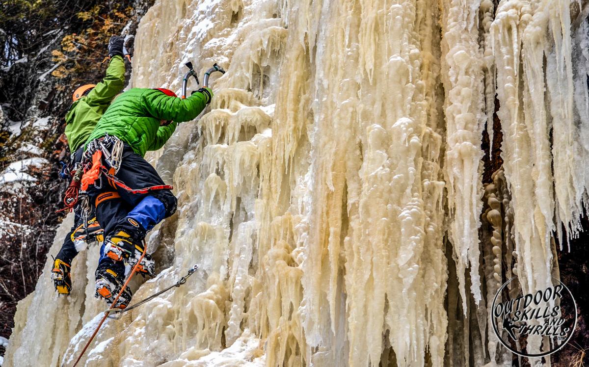 Ice climbing at Kama Bay -Outdoor Skills And Thrills -Photo by Aric Fishman