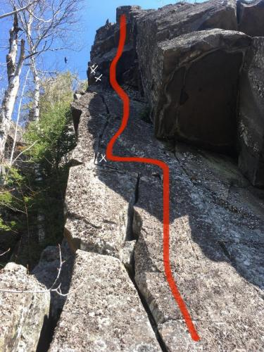 New Route - Unicorn Horn - Photo by Brent Clark